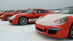 Porsche Camp4 Canada : un party sur la glace