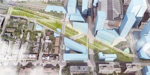 Feu vert au nouveau Quartier des gares à Montréal, mais pas à n'importe quel