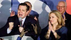 Ted Cruz et Hillary Clinton l'emportent dans l'Iowa