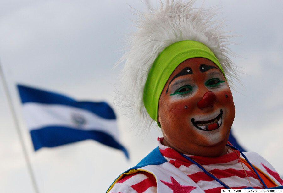 Des clowns se réunissent en congrès à San Salvador