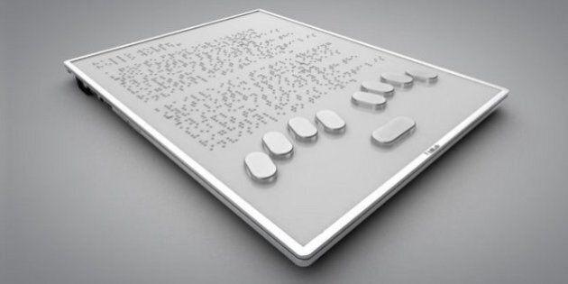 La tablette tactile entièrement en braille «Blitab» pourrait sortir en