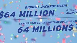 Lotto 6/49: gros lot record de 64 millions $ ce