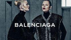 La magnifique nouvelle campagne Balenciaga avec Kate Moss et Lara