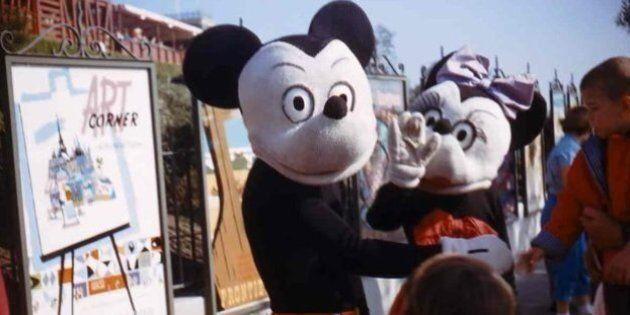 Des photos de Disneyland qui vous donneront la chair de