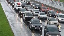 Circulation perturbée sur la route