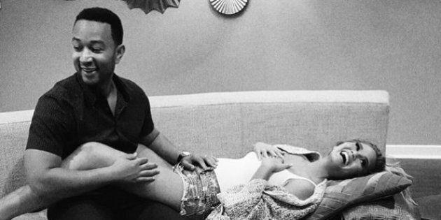John Legend et Chrissy Teigen attendent leur premier