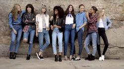 Tous les modèles hot du moment réunis pour la campagne denim de Topshop