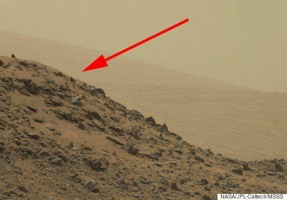 L'explication pour la «pyramide» aperçue sur Mars est vraiment