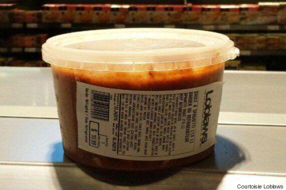Loblaws procède au rappel de sauce à spaghetti pouvant contenir du