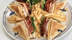 À Genève, le club sandwich coûte en moyenne 37,97$ dans les hôtels