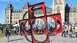 À pied de Montréal à Ottawa en soutien à