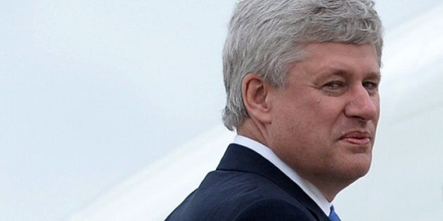 Harper s'attaque à Trudeau et Mulcair dans un discours au Stampede de