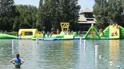 Aquazilla, nouveau terrain de jeux au parc Jean-Drapeau