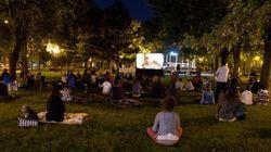 Où et quand regarder des films en plein air à Montréal cet