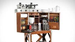 La cuisine mobile qui va faire rêver les campeurs