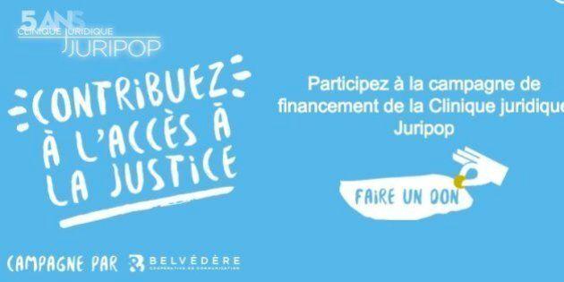La Clinique juridique Juripop a atteint son objectif de financement, grâce à l'appui
