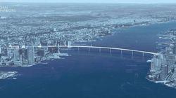 Un projet de pont pédestre pour relier Manhattan au New Jersey