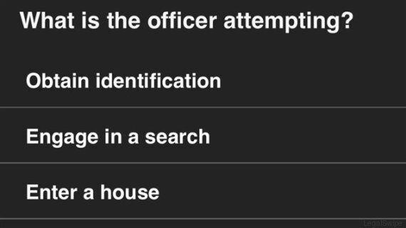 Quels sont vos droits si vous êtes arrêté par un policier? Il y a l'application LegalSwipe pour