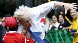 Un enfant envoyé au tapis par le maire de Londres!