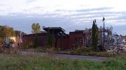 L'ancien poste de police de Kanesatake