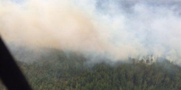 Feu de forêt dans le nord de l'Alberta : l'état d'urgence