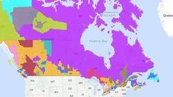 Voici de quoi a l'air le Canada sans le français ni