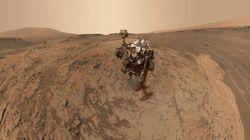 Une photo interactive pour voir Mars à travers les yeux de