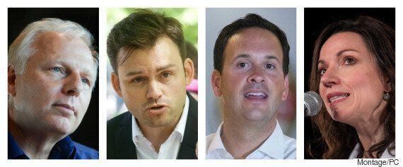 Course à la chefferie du Parti québécois: les candidats débattent par blogues