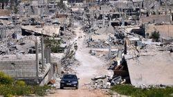 Le groupe État islamique frappe à Kobané
