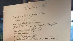 «Les Immortelles – Nos plus belles chansons»: quand les textes deviennent des œuvres