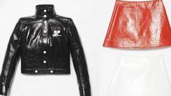 Semaine de mode: Des mini, du blanc et du vinyle... Courrèges est de