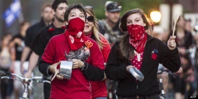 Les carrés rouges victimes de profilage politique à