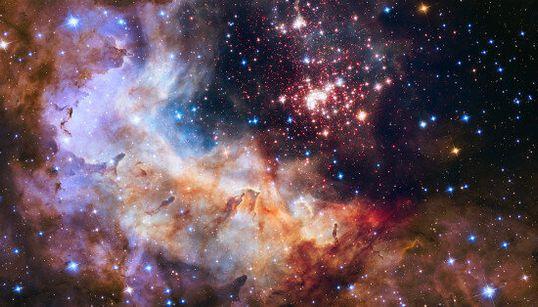 Des feux d'artifices... dans l'univers