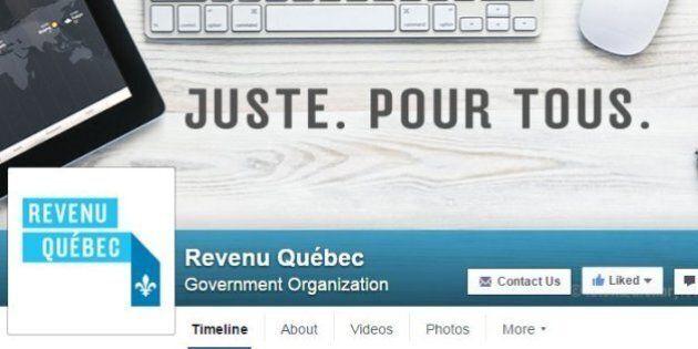 Revenu Québec débarque sur
