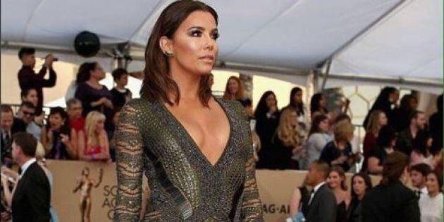 La robe d'Eva Longoria éblouit le tapis rouge des SAG Awards
