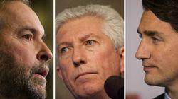 Trudeau, Mulcair et Duceppe à «En mode