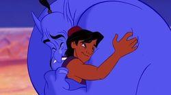 Aladdin se souvient du génie Robin Williams