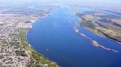 Huit milliards de litres d'eaux usées déversées dans le fleuve
