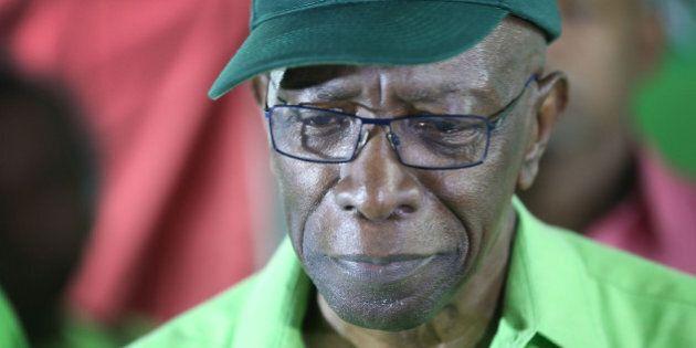 SURREY, TRINIDAD AND TOBAGO - JUNE 11: Former FIFA vice-president Jack Warner speaks during an Independent...