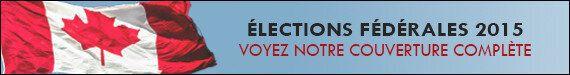 Élections fédérales 2015: La candidate libérale Christine Poirier fait campagne avec son nouveau-né