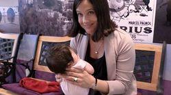 En campagne avec un bébé de trois semaines