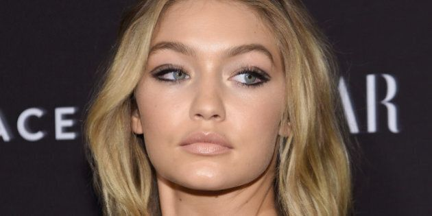 NEW YORK, NY - SEPTEMBER 16: Gigi Hadid attends the 2015 Harper's BAZAAR ICONS Event at The Plaza Hotel on September 16, 2015 in New York City.  (Photo by Jamie McCarthy/Getty Images)