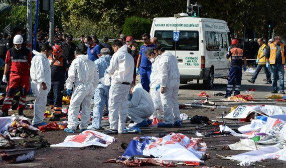 Attentat le plus meurtrier de l'histoire turque: au moins 97 morts