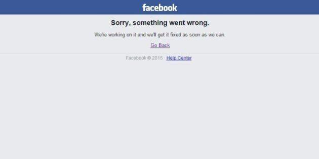 Facebook en panne pour la 2e fois en moins d'une