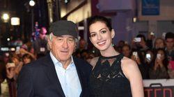 «Le Stagiaire»: Anne Hathaway et Robert De Niro radieux à la première