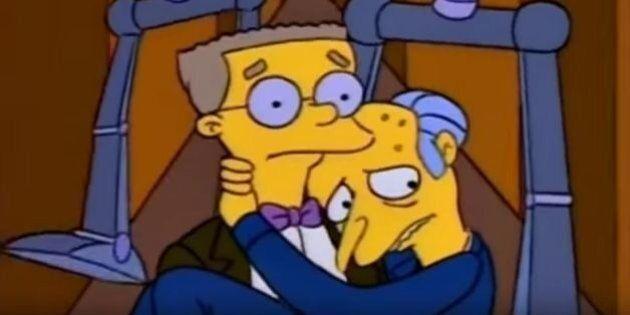Les Simpson saison 27 : Smithers sur le point de faire son coming-out