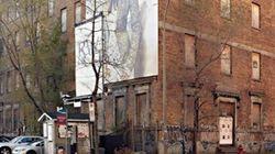 Destruction imminente d'un bâtiment historique à