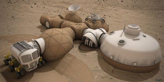 Planète Mars : la Nasa a choisi le design de sa future maison 3D