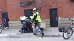 Les policiers peuvent-ils frapper à coups de poing au
