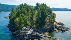 À vendre : L'île Whitestone est un oasis au milieu de l'océan